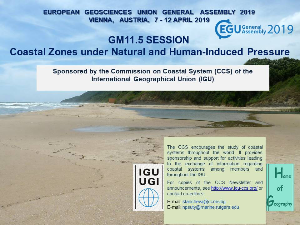 EGU2019 GM11.5 Session