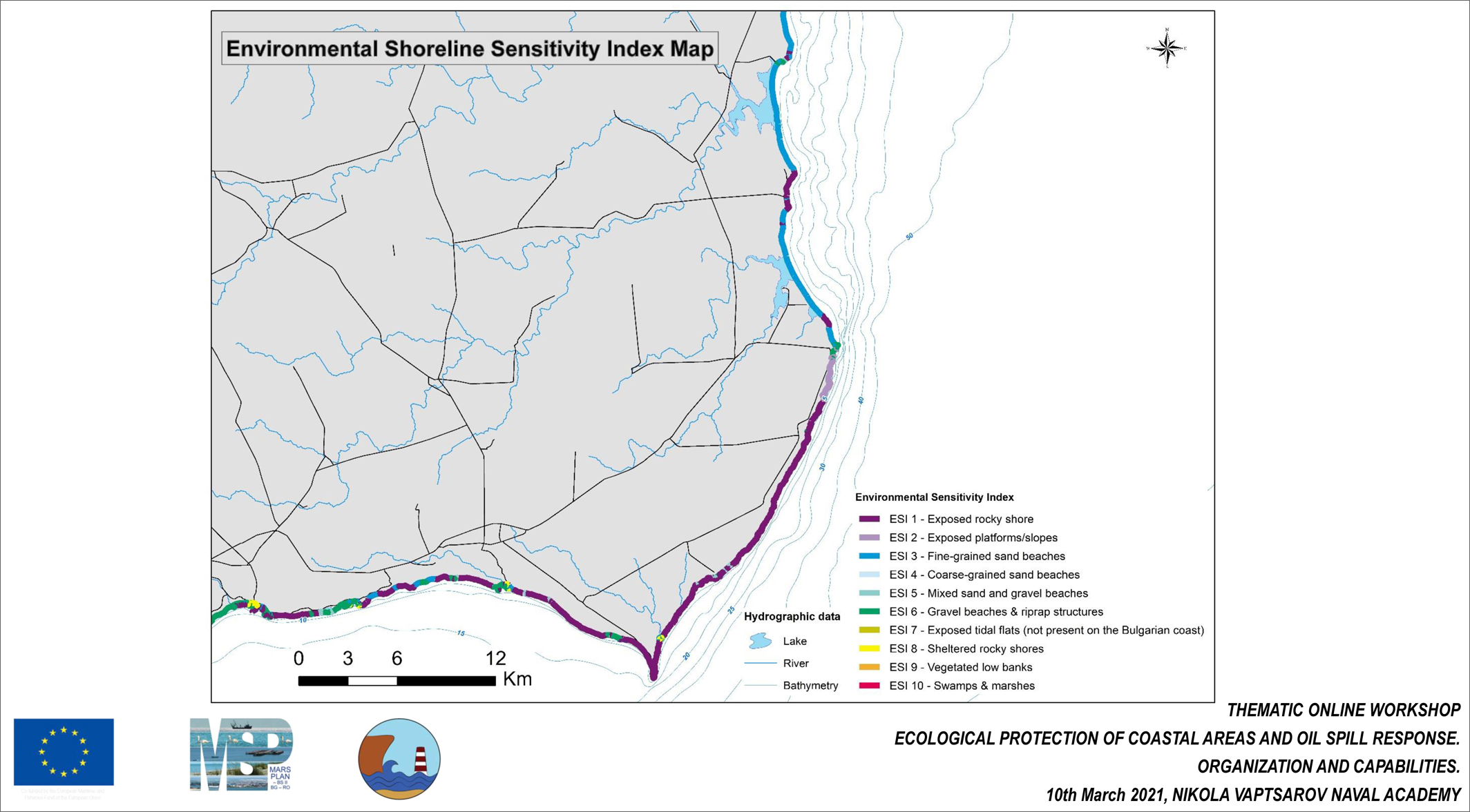 ESI Classification of Bulgarian Black Sea Shoreline in Response to Oil Spill